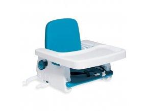 The First Years Přenosná krmící židlička bílo-modrá