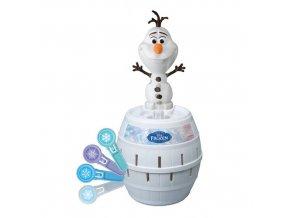 TOMY Disney Frozen společenská hra Vyskakovací Olaf