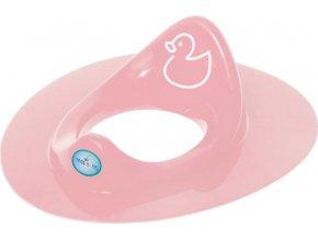 Dětské sedátko na WC kačenka růžové