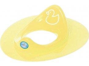 Dětské sedátko na WC kačenka žluté