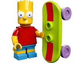 LEGO Minifigurky Simpsons 71005 Bart Simpson