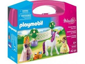 PLAYMOBIL® 70107 Přenosný kufřík Princezna a jednorožec