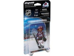 Playmobil 9189 NHL Brankář Colorado Avalanche
