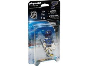 Playmobil 9183 NHL Brankář St. Louis Blues