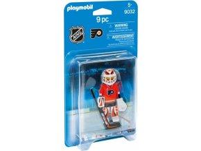 PLAYMOBIL® 9032 NHL Brankář Philadelphia Flyers