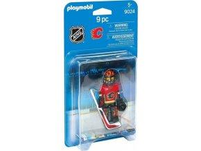 Playmobil 9024 NHL Brankář Calgary Flames