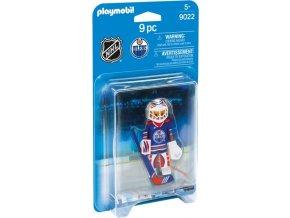 Playmobil 9022 NHL Brankář Edmonton Oilers
