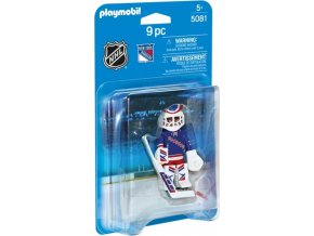 PLAYMOBIL® 5081 NHL Brankář New York Rangers
