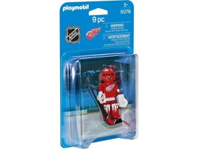 PLAYMOBIL® 5076 NHL Brankář Detroit Red Wings
