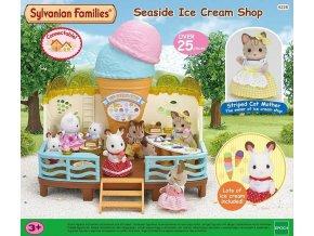 Sylvanian Families 5228 Zmrzlinová restaurace u moře