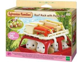 Sylvanian Families 5048 Střešní nosič s piknik setem