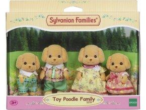 Sylvanian Families 5259 Rodina Pudlů