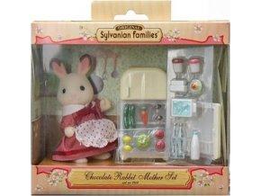 Sylvanian Families 5014 Maminka čokoládových králíků s ledničkou