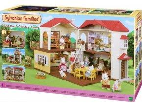 Sylvanian Families 5302 Patrový dům s červenou střechou a světly