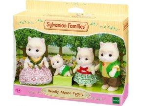 Sylvanian Families 5358 Rodina vlněných alpak
