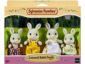 Sylvanian Families 4030 Rodina Bavlněných králíků