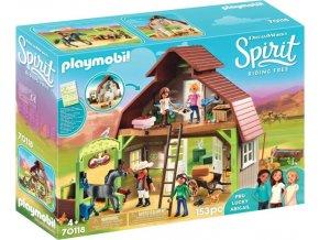 PLAYMOBIL® 70118 Koňská stáj, Lucky a kamarádky Pru a Abigail