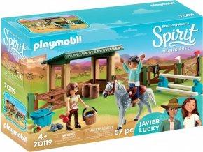 PLAYMOBIL® 70119 Jízdárna s Lucky a Javierem