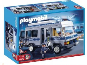 PLAYMOBIL 4023 Policejní anton se sirénou