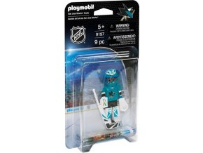 PLAYMOBIL® 9197 NHL Brankář San José Sharks