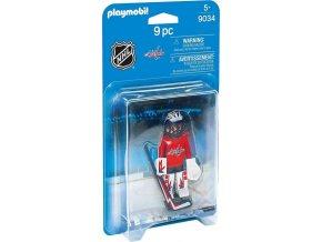 PLAYMOBIL® 9034 NHL Brankář Washington Capitals