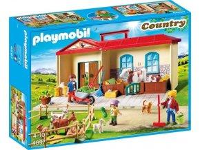 PLAYMOBIL® 4897 Statek - přenosný kufřík