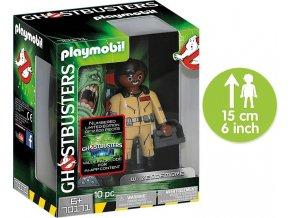 PLAYMOBIL® 70171 Ghostbusters sběratelská figurka W. Zeddemore 15cm