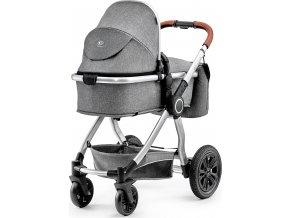 Kinderkraft Kočárek kombinovaný Veo grey 3v1 2019