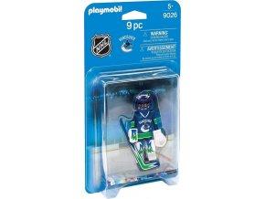 PLAYMOBIL® 9026 NHL Brankář Vancouver Canucks