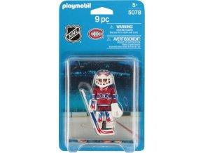 PLAYMOBIL® 5078 NHL Brankář Montreal Canadiens
