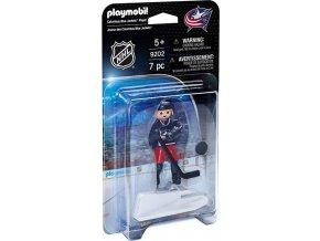 PLAYMOBIL® 9202 NHL Hokejista Columbus Blue Jackets
