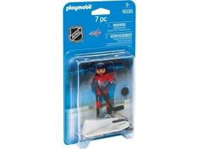 PLAYMOBIL 9035 NHL Hokejista Washington Capitals