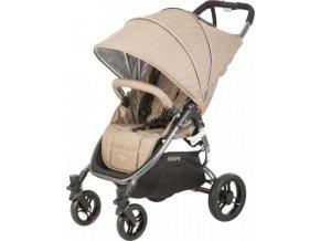 valco baby Kočárek sportovní Valco Snap 4 Sport Tailor Made Sand metalická šedá konstrukce
