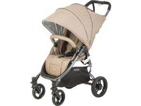 valco baby Kočárek sportovní Valco Snap 4 Tailor Made Sand metalická šedá konstrukce