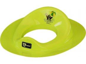Gmini Adaptér na WC Krtek s míčem zelený