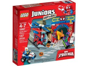LEGO Juniors 10687 Spider-Manova skrýš