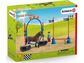 Schleich 42482 Závod v agility pro poníky