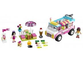 LEGO Juniors Emma a zmrzlinářská dodávka