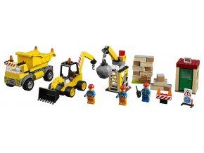 LEGO Juniors Demoliční práce na staveništi
