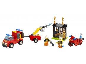 LEGO Juniors Kufřík hasičské hlídky