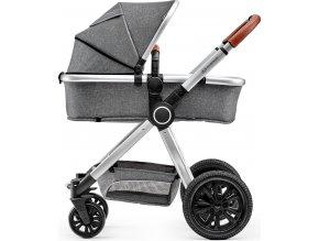 Kinderkraft Kočík kombinovaný Veo Grey 2v1 Kinderkraft 2019