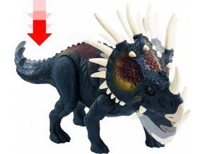 Jurský svět Dino Ničitel Styracosaurus 20cm