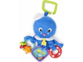 Baby Einstein Hračka na C kroužku aktivní Octopus™ 0m+