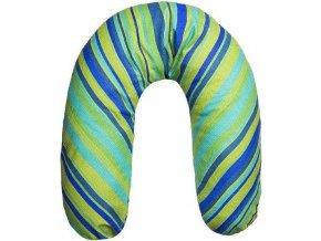 Univerzální kojící polštář Womar modrozelený