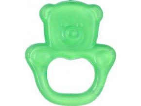 BabyOno Kousátko chladící medvěd- zelená