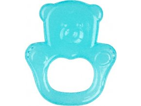 BabyOno Kousátko chladící medvěd - tyrkysová