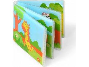 BabyOno Mini knížka do vody, pískací - Divoká zvířátka