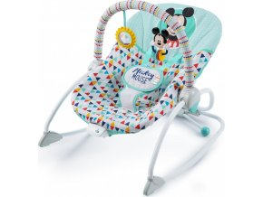 Disney baby Húpatko vibrující MICKEY MOUSE Happy triangles 0m+, do 18kg, 2019