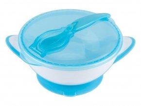 miska s prisavkou a lzickou modra