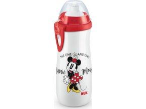 Dětská láhev NUK Sports Cup Disney Mickey 450 ml red